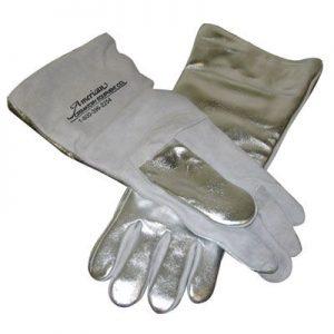 "18"" Aluminized Safety Gloves"