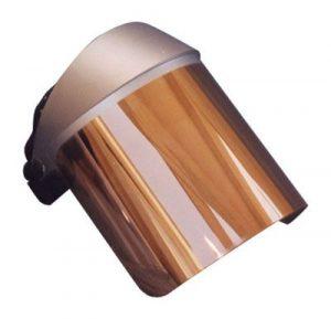 Heat Reflective Face Shield (Gold)