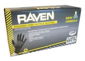 Raven Powder-Free Nitrile Gloves (Large)